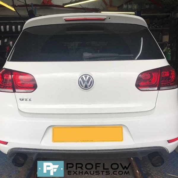 Proflow custom built Exhaust for Golf Gti