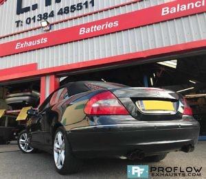 Mercedes Clk Daul Custom Backbox Tx083 £330 (2)