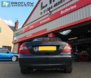 Mercedes Clk Daul Custom Backbox Tx083 £330 (3)