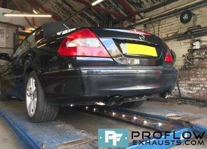 Mercedes Clk Daul Custom Backbox Tx083 £330 (4)