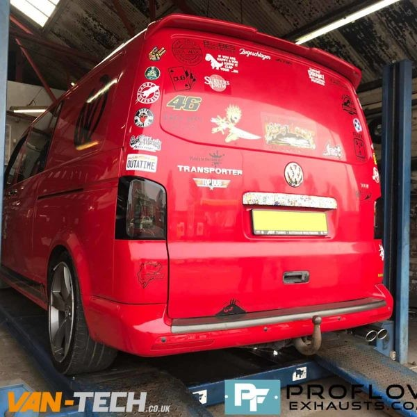 Vw Transporter T5 Stainless Steel Exhaust Middle And Rear (4)