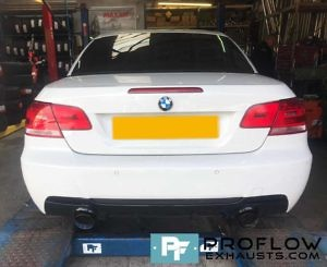 Proflow Exhausts Back Box Delete Dual Exit For BMW (1)