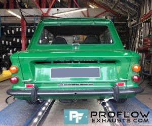 Proflow Exhausts Custom Built Specialised Back Box For Hillman Imp (2)