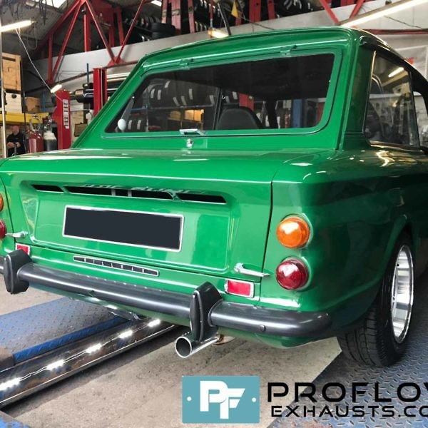Proflow Exhausts Custom Built Specialised Back Box For Hillman Imp (3)
