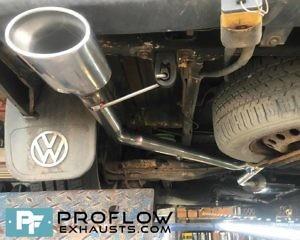 VW T4 Custom Exhaust Custom Built Stainless Steel Proflow (2)