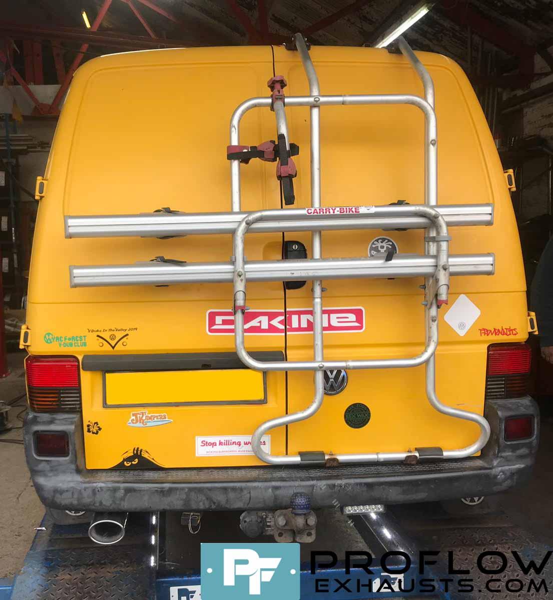 VW T4 Custom Exhaust Custom Built Stainless Steel Proflow (3)