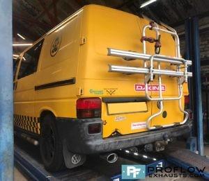 VW T4 Custom Exhaust Custom Built Stainless Steel Proflow (4)