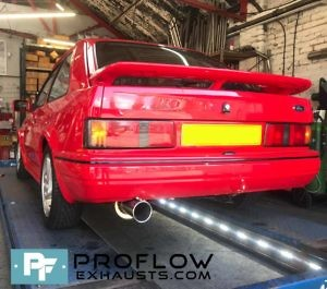 Proflow custom built Exhaust Stainless Steel Ford Escourt RS Exhaust