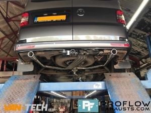 Proflow Custom Stainless Steel Exhaust For Volkswagen Transporter T5 (1)