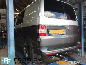 Proflow Custom Stainless Steel Exhaust For Volkswagen Transporter T5 (3)