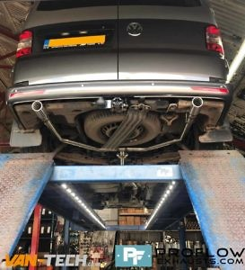 Proflow Custom Stainless Steel Exhaust For Volkswagen Transporter T5 (5)