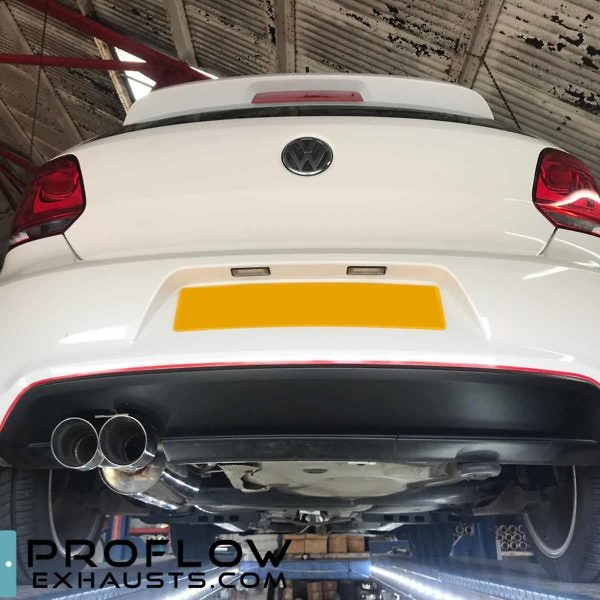Proflow Custom Exhaust Polo GTi Stainless Steel Middle And Rear (2)