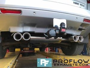 Proflow Stainless Steel Dual Exit Custom Exhaust Freelander 2 (2)