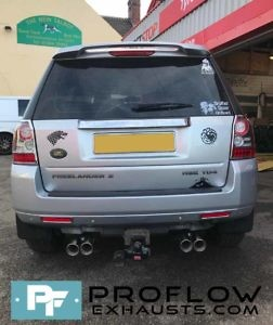 Proflow Stainless Steel Dual Exit Custom Exhaust Freelander 2 (4)