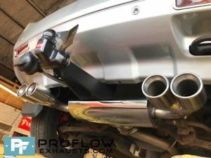 Proflow Stainless Steel Dual Exit Custom Exhaust Freelander 2 (5)