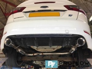 Proflow Custom Stainless Steel Dual Exit Exhaust Ford Mondeo (2)