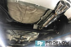 Proflow Custom Built Exhaust Ford Fiesta ST Stainless Steel Exhaust Middle And Rear With Tx023 Tailpipe (1)
