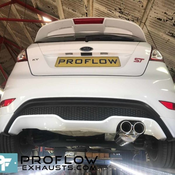 Proflow Custom Built Exhaust Ford Fiesta ST Stainless Steel Exhaust Middle And Rear With Tx023 Tailpipe (2)