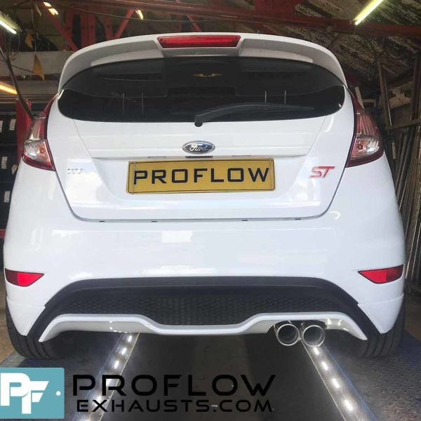 Proflow Custom Built Exhaust Ford Fiesta ST Stainless Steel Exhaust Middle And Rear With Tx023 Tailpipe (6)