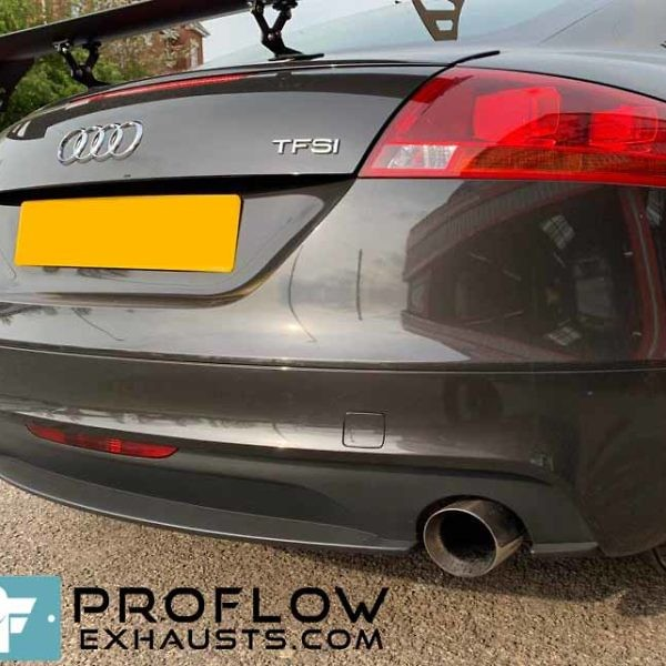 Proflow Exhausts Back Box Delete Dual Exit Audi TT