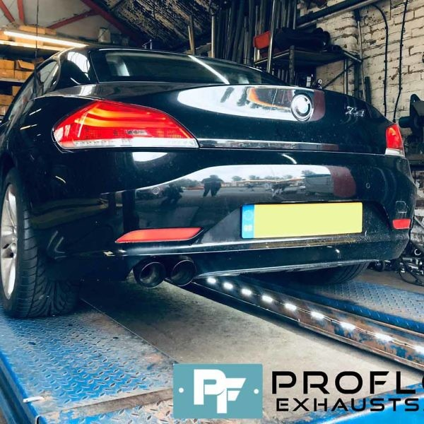 Proflow Custom Back Box Delete For BMW Z4 Made From Stainless Steel (1)