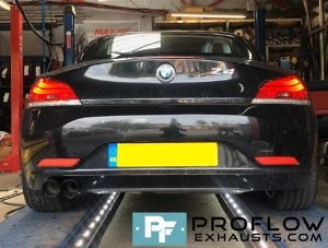 Proflow Custom Back Box Delete For BMW Z4 Made From Stainless Steel (2)