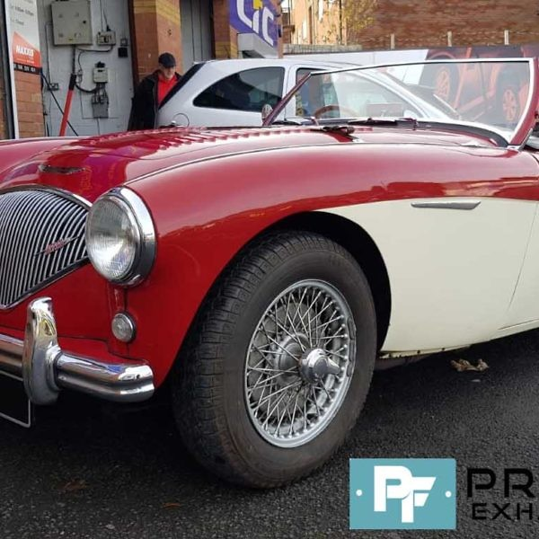 Proflow Exhausts Custom Built Middle Section and Muffler Removal for Austin Healey