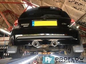 Renalut Clio Custom Exhaust Proflow Exhausts (1)