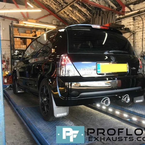 Renalut Clio Custom Exhaust Proflow Exhausts (3)