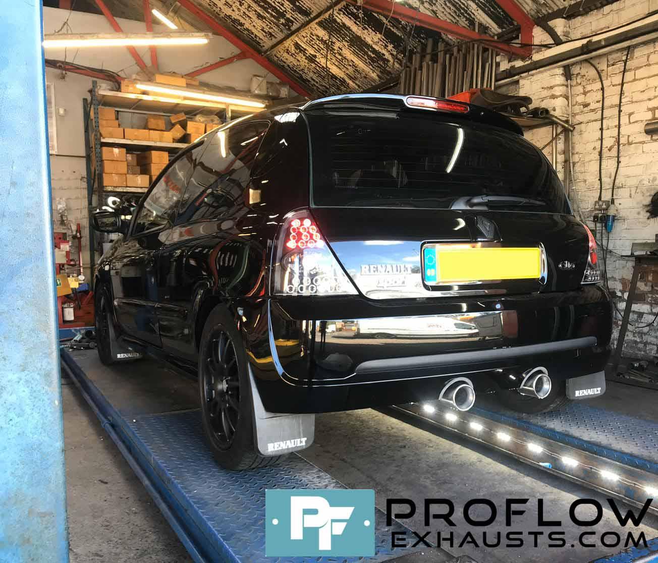 Renalut Clio Custom Exhaust Proflow Exhausts (3)