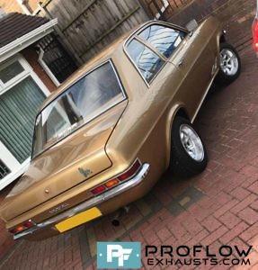 Proflow Custom Built Full Exhaust System for Vauxhall Viva
