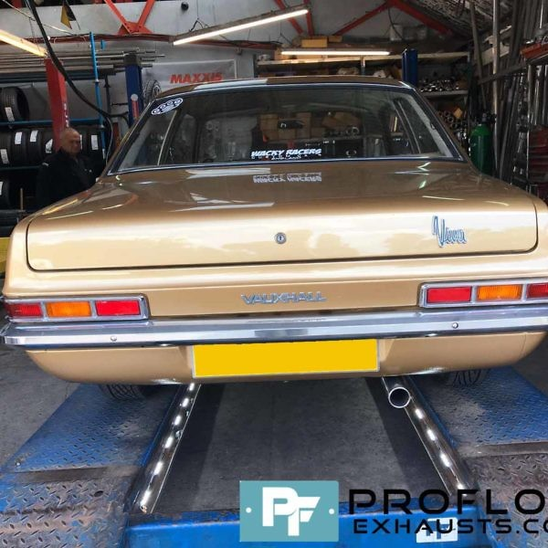 Proflow Custom Built Full Exhaust System for Vauxhall Viva