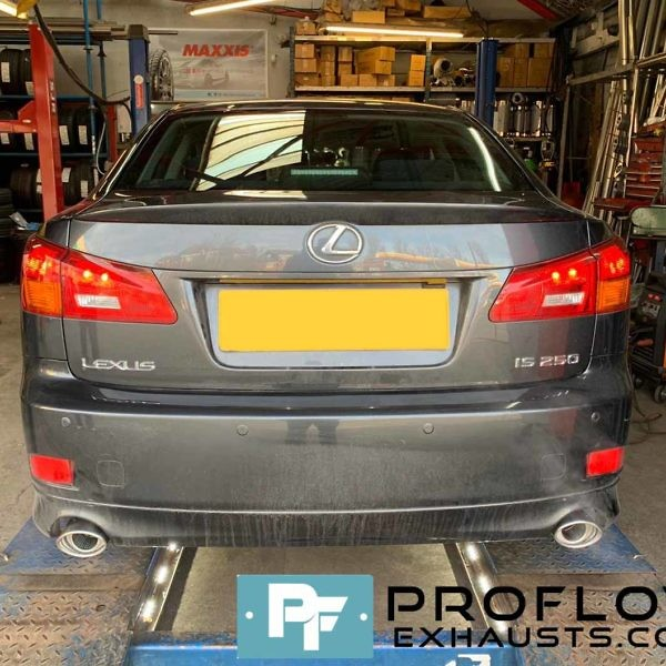 Proflow Custom Exhaust Lexus LS 250 Middle And Dual Rear Built From Stainless Steel (2)