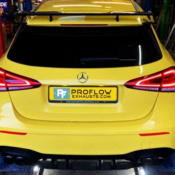 Proflow Exhausts Mercedes A Class AMG Back Box Delete Stainless Steel Custom Built (4)