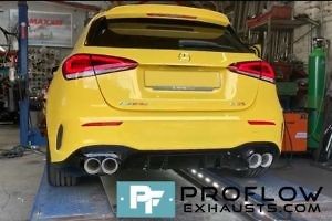 Proflow Exhausts Mercedes A Class AMG Back Box Delete Stainless Steel Custom Built (6)