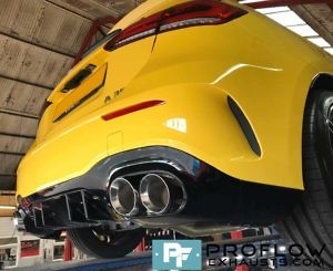 Proflow Exhausts Mercedes A Class AMG Back Box Delete Stainless Steel Custom Built (8)