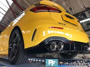 Proflow Exhausts Mercedes A Class AMG Back Box Delete Stainless Steel Custom Built (9)