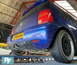 Seat Arosa Proflow Exhausts Back Box Delete Stainless Steel Custom Exhaust (1)