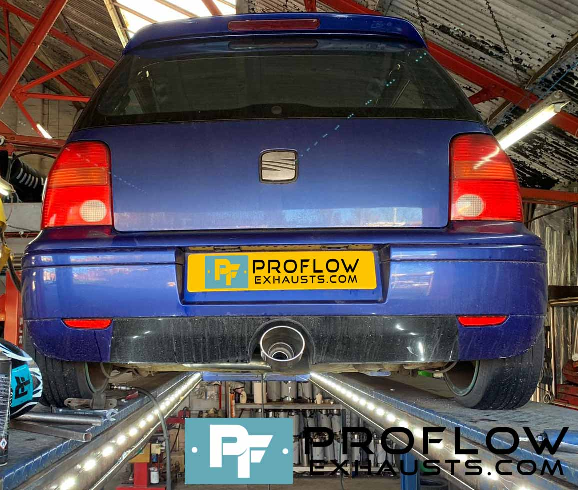 Seat Arosa Proflow Exhausts Back Box Delete Stainless Steel Custom Exhaust (4)