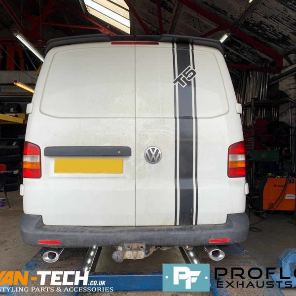 Vw Transporter T5 Custom Built Exhaust Proflow Stainless Steel (1)