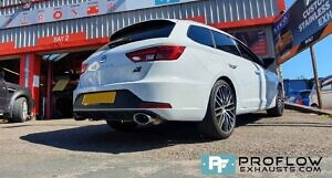 Proflow Custom Built Stainless Steel Dual Back Boxes Seat Cupra Exhaust (1)