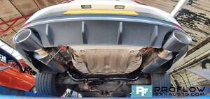 Proflow Custom Built Stainless Steel Dual Back Boxes Seat Cupra Exhaust (5)