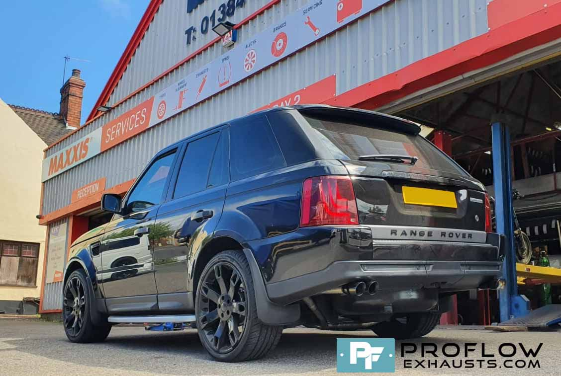 Proflow Stainless Steel Exhaust for Range Rover Dual Exit