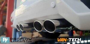 Proflow Custom VW T5.1 Transporter Dual Middle Exhaust (5)