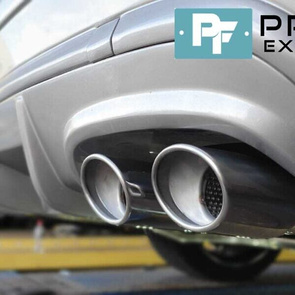 Mercedes CLK Custom Exhaust Dual Exit Built From Stainless Steel (3)