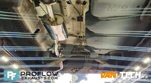 Proflow Custom Exhaust VW T5 Middle And Rear With Twin Tailpipe (1)