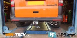 Proflow Custom Exhaust VW T5 Middle And Rear With Twin Tailpipe (2)