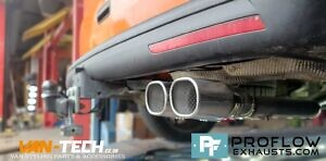 Proflow Custom Exhaust VW T5 Middle And Rear With Twin Tailpipe (4)