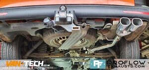 Proflow Custom Exhaust VW T5 Middle And Rear With Twin Tailpipe (5)