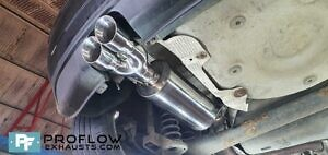 Vw Polo Gti Exhaust Proflow Exhausts Stainless Steel Custom Back Box And Twin Tailpipe For Polo GTi (6)